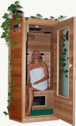 infrarotkabine infrarotsauna waermekabine von friedeburger. Black Bedroom Furniture Sets. Home Design Ideas